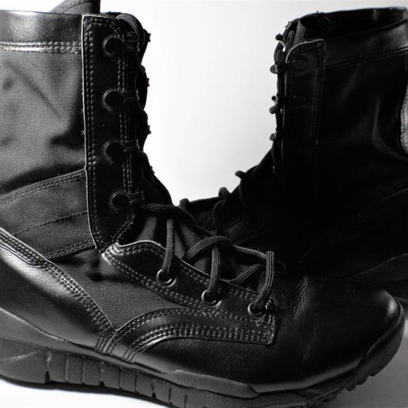 1a519273b0a09 Nike SFB Black Military Leather Field Boots. M 5a8f581b84b5ce97856931bf